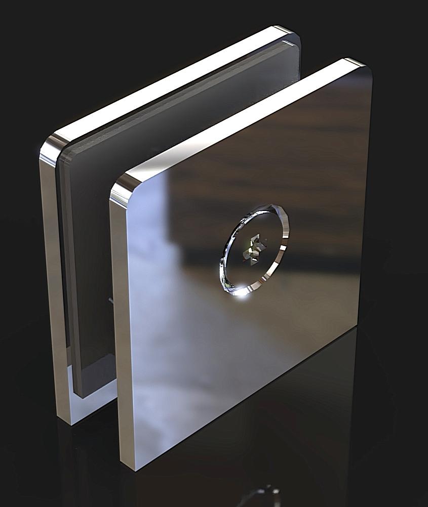 GC-00-A1 Коннектор стена-стекло
