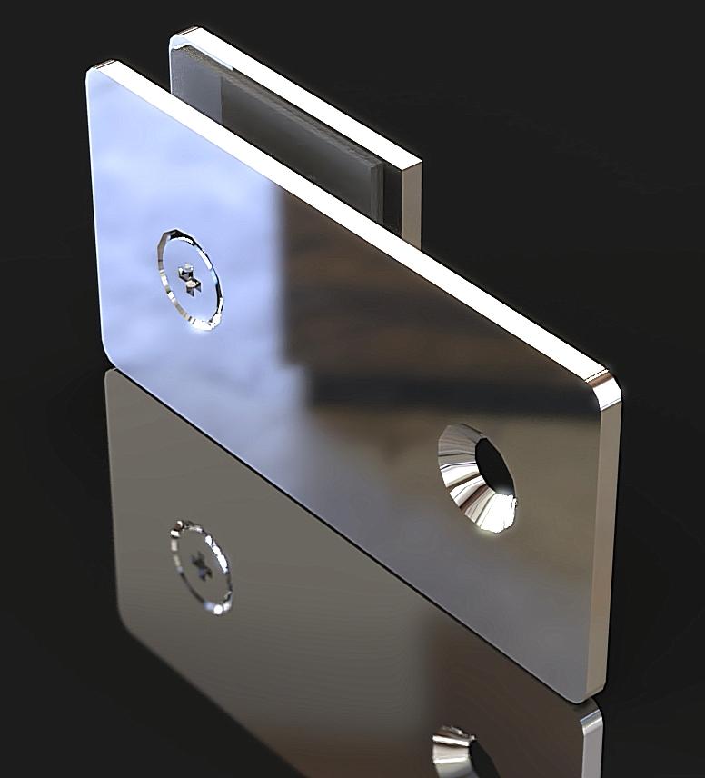 GC-180-A1 Коннектор стена-стекло 180 градусов