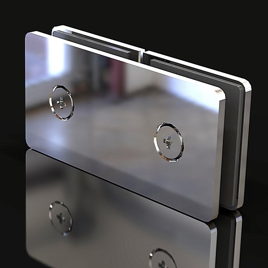 GC-180-A2 Коннектор стекло-стекло 180 градусов