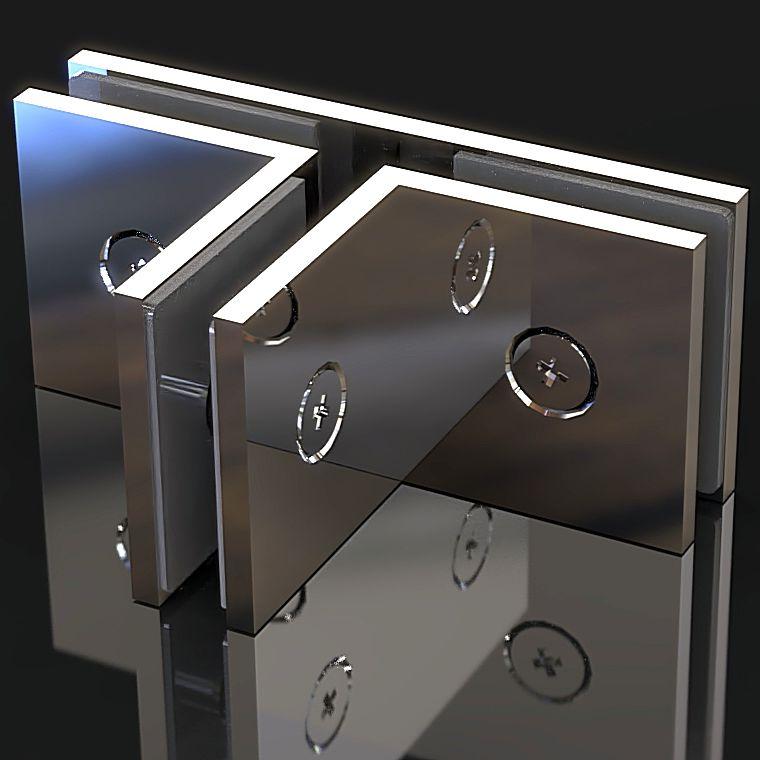 GC-90-A3 Коннектор стекло-стекло Т-образный