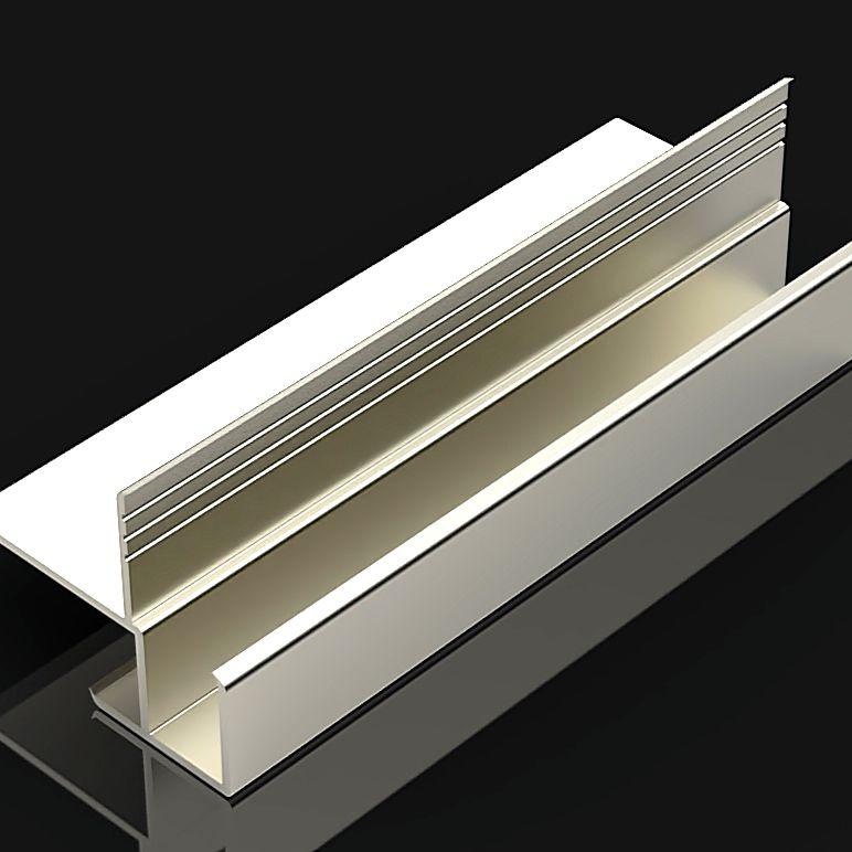 Профиль поворотный для стеновых панелей
