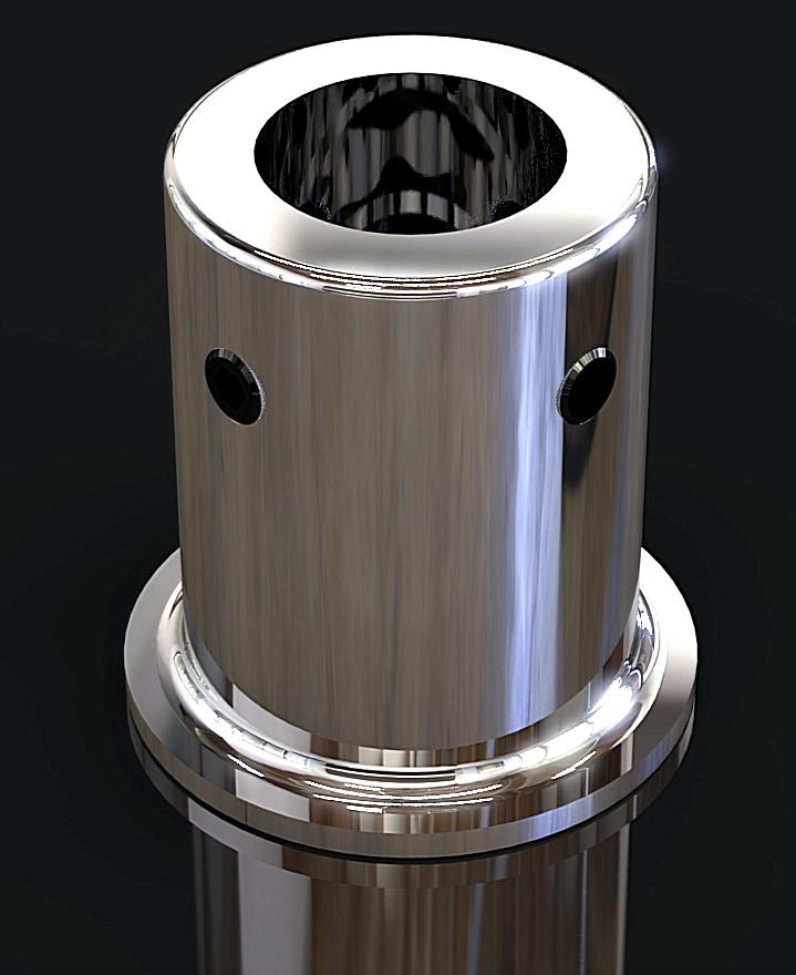 SC-1A Соединитель трубы D 19mm труба - стена