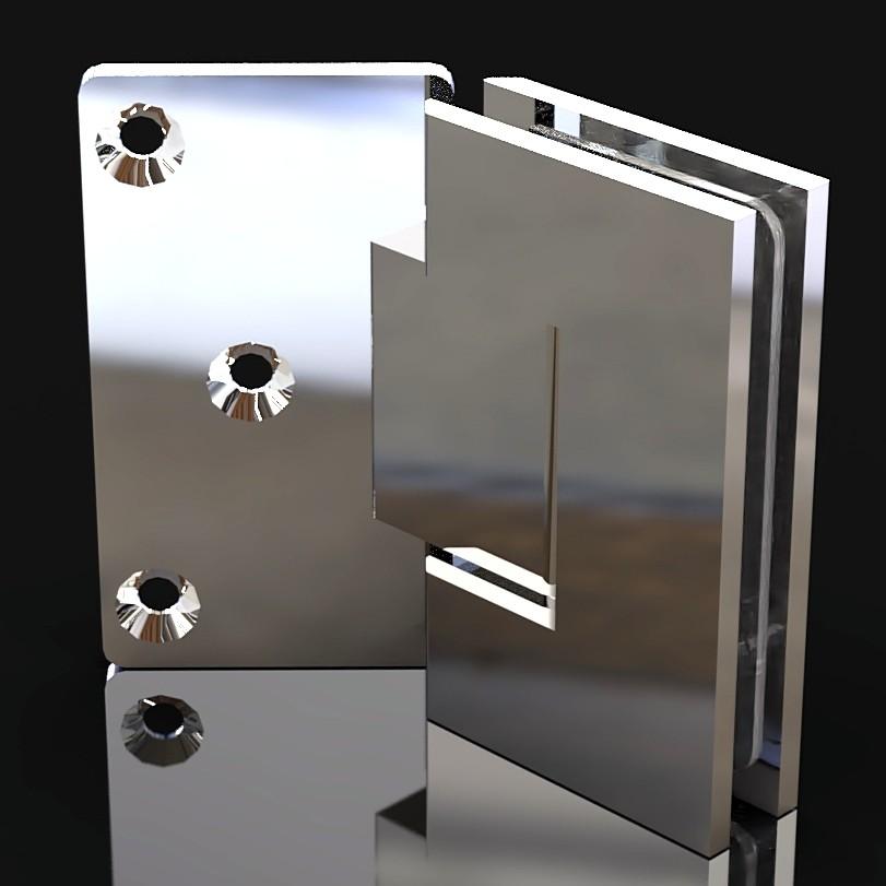 SH135-C3 Петля стена-стекло 135 градусов