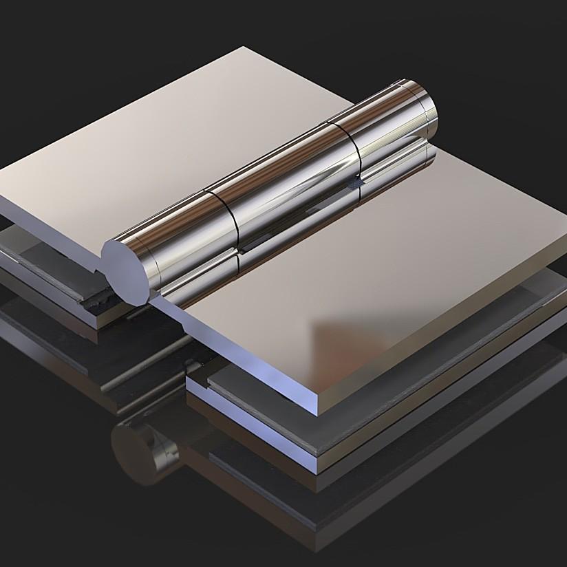 SH-S18 Петля стекло-стекло 180 градусов наружный