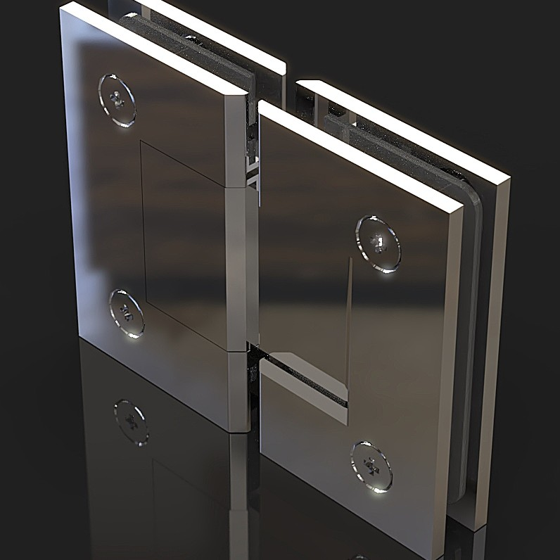 SH180-B Петля стекло-стекло 180 градусов